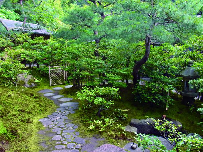 東慶寺の茶庭