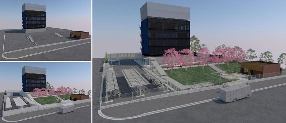 非住宅向けエクステリアで、フェンス・駐輪場の自動設計ツールを開発/LIXIL