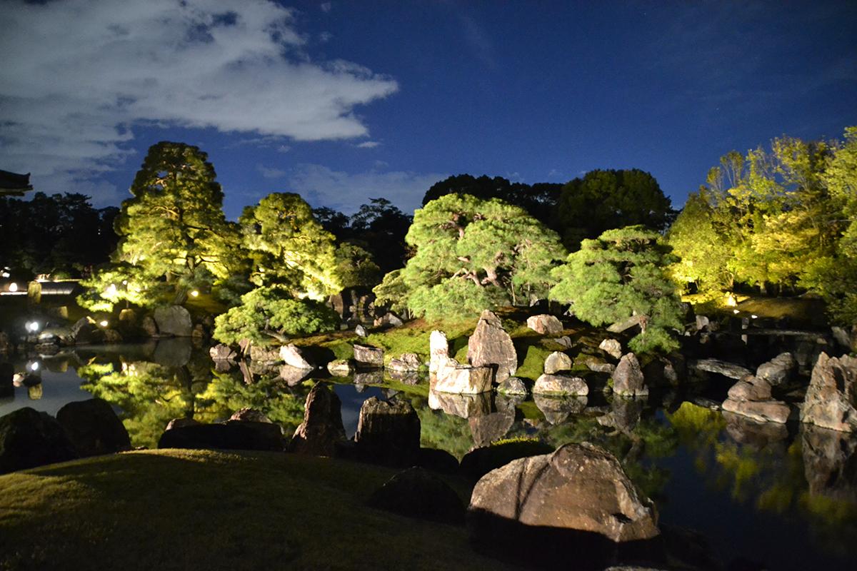 「二条城×ネイキッド 夏季特別ライトアップ2020」を開催/8月8~30日